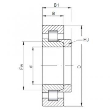 ISO NH219 cylindrical roller bearings